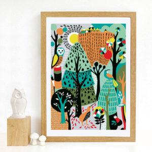 Tofutree Art Print 'Wonderland'