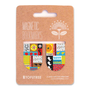 Tofutree Magnetic Bookmarks Set 'Montage'