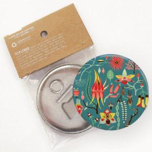 Tofutree Magnetic Bottle Opener 'Secret Garden'