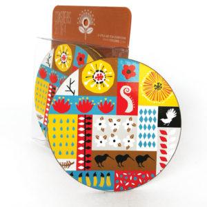 Tofutree Coaster Set 'Montage'