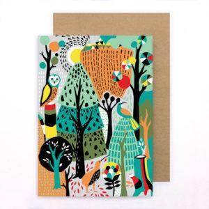 Tofutree Greeting Card 'Wonderland'